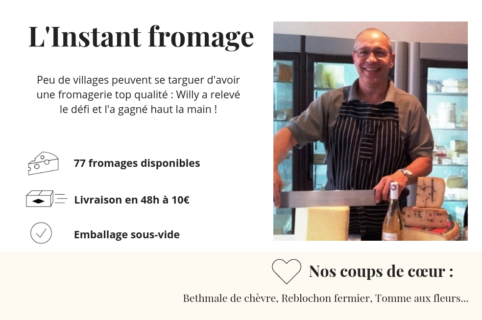 fromagerie l'instant fromage