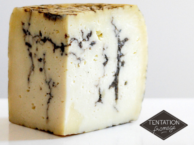 fromage Moliterno aux truffes