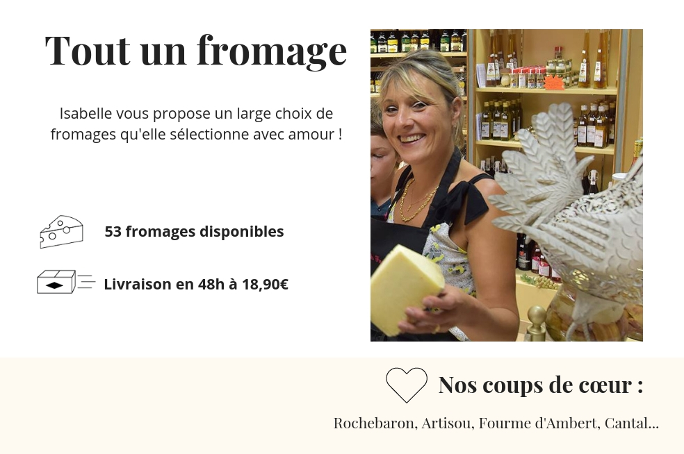 fromagerie tout un fromage