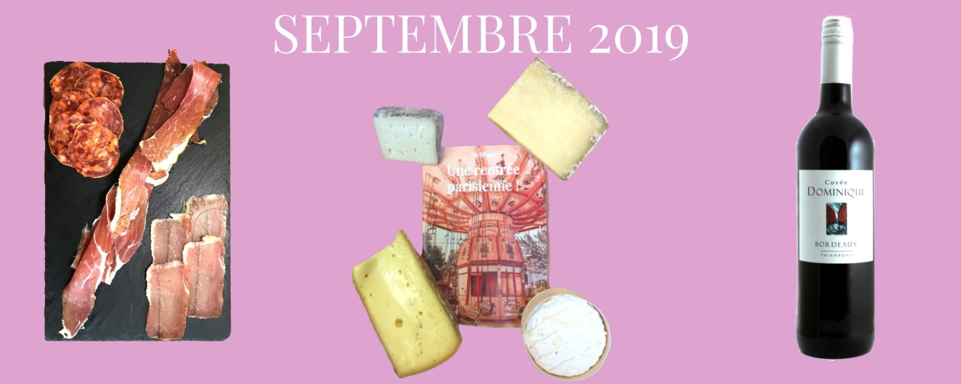 box fromage de septembre 2019